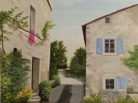 petit hameau en Drôme Provençale