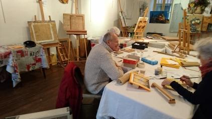 Atelier avec Michel LEVI