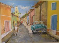 BEGOT Christian Une rue