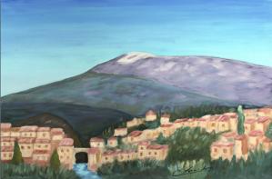 Mont Ventoux Huile