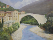 Pont roman de Nyons Huile