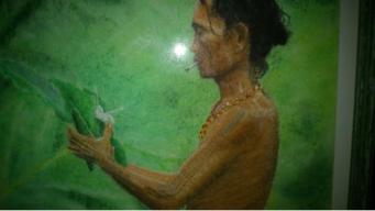 MAUGER Christiane Chaman birman Pastel