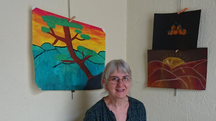 Atelier enfants avec Christine MERLIN