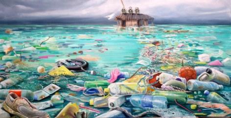Mer polluée