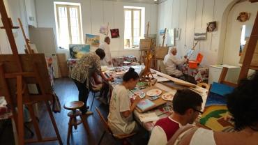 Atelier avec Laure BAILLY