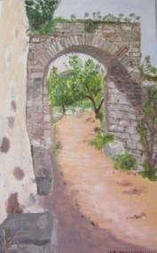 Porte de rempart Sainte Jalle