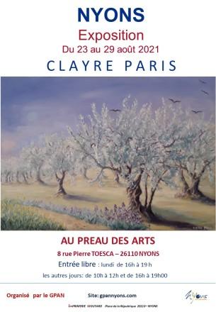 2021 Clayre Paris